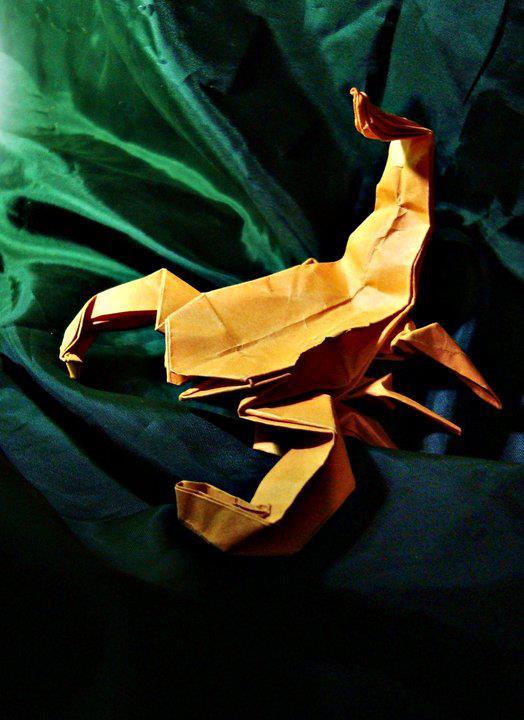 Escorpião Origami