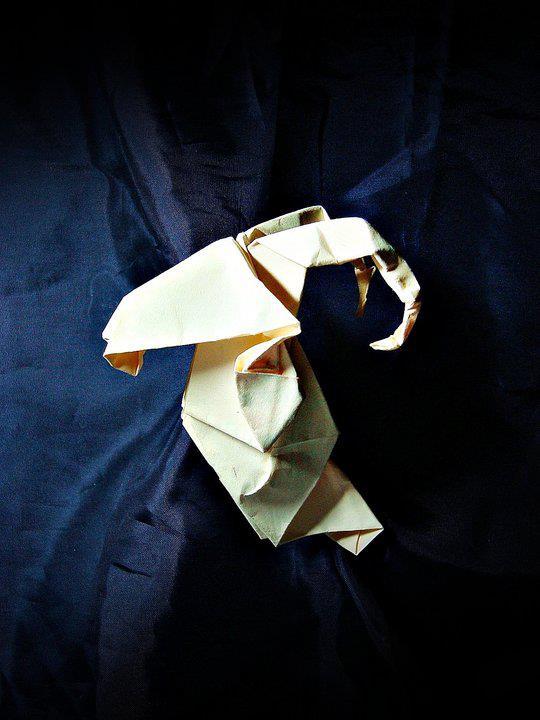 Origami Áries